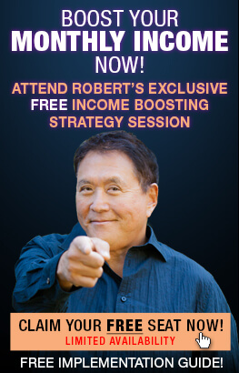 Attend a FREE Exclusive Income Boosting Strategy Session with Robert.